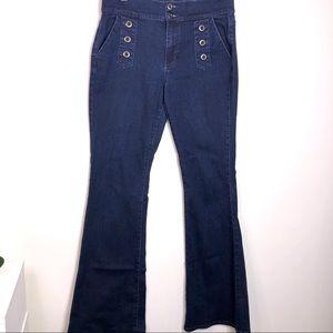 SOHO High Waist Flare Jeans
